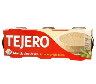 Atún almadraba a/oliva Tejero pack 3×56 g.