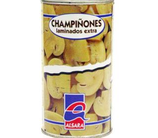 Champiñón laminado Alsara 180 g.