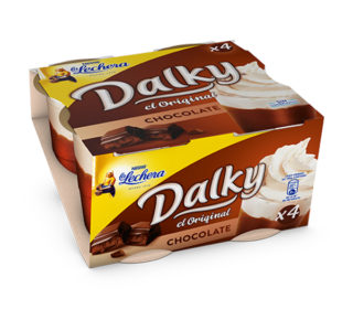 Dalky choco/nata pack 4×100 g.