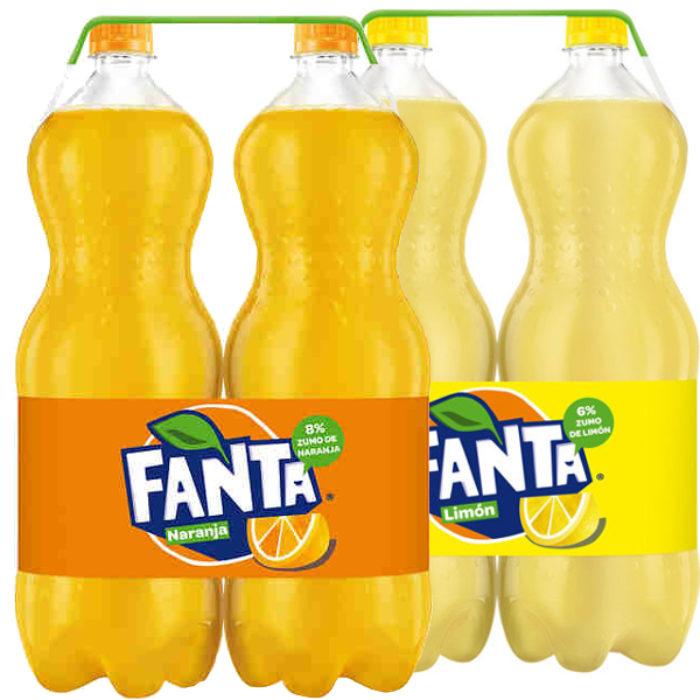 Fanta pack 2×2 L. (naranja o limón) - Alcoop