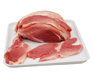 Filetes extra jamón cerdo fresco, Kg.