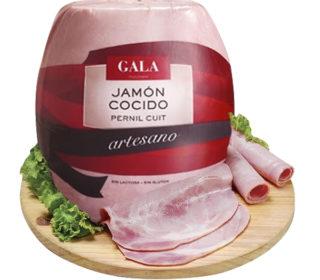 Jamón cocido artesano Gala La Selva, 250 g.