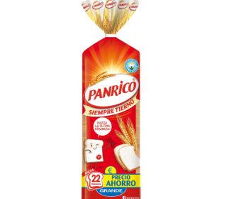 Pan blanco Panrico 475 g.