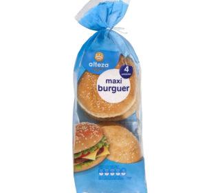 Pan molde maxi hamburguesa Alteza pack 4 und.
