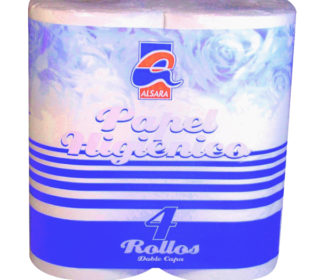 Papel higiénico Alsara 2 capas 4 rollos