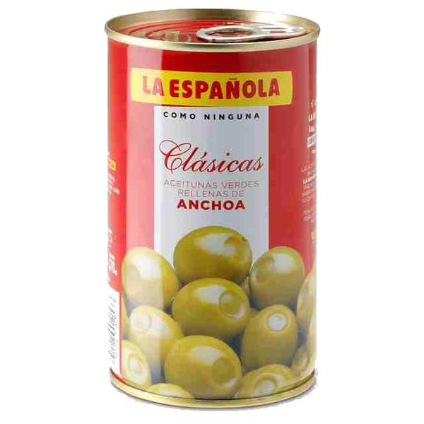 Aceitunas rellenas La Española 150 g.