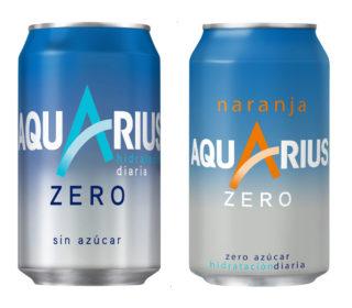 Aquarius Zero lata 33 cl.