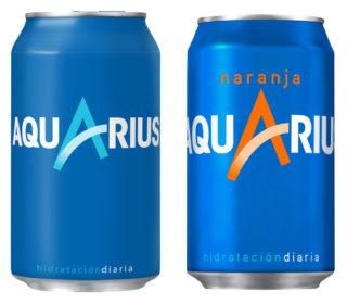 Aquarius lata 33 cl.