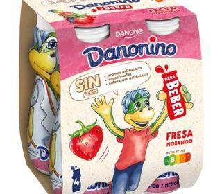 Danonino bebedino pack 4×100 g.