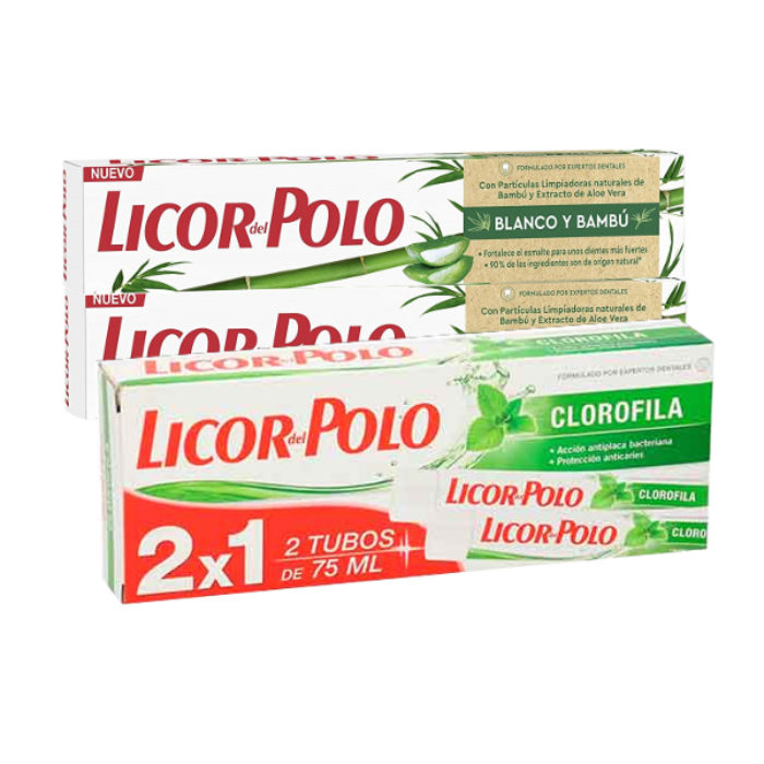Dentífrico Licor del Polo pack 2×75 ml. - Alcoop