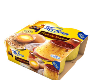Flan de huevo La Lechera pack 4×100 g.
