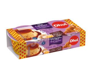 Flan huevo s/lactosa Dhul pack 4×110 g.