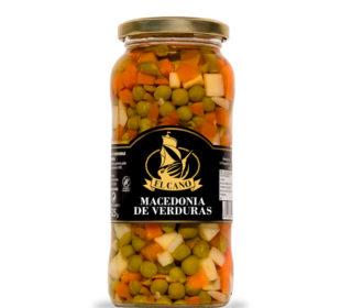 Macedonia verduras El Cano 325 g.