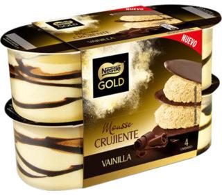 Mousse Nestlé gold pack 4×57 g.
