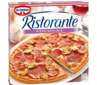 Pizza Ristorante speciale 330 g.