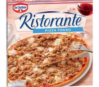 Pizza Ristorante atún 330 g.