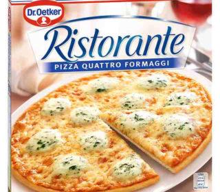 Pizza Ristorante 4 quesos 300 g.