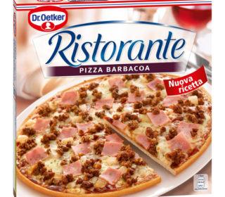 Pizza Ristorante barbacoa 350 g.