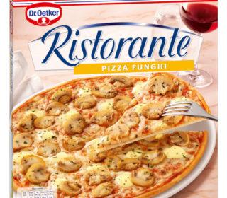 Pizza Ristorante funghi 365 g.