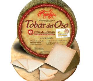 """Queso oveja curado D.O. """"La Mancha"""" Tobar del Oso, 250 g."""