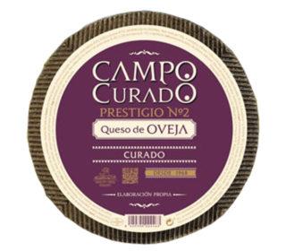 Queso puro oveja añejo Campo Curado 250 g.