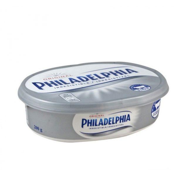 Queso Philadelphia regular 200 g.