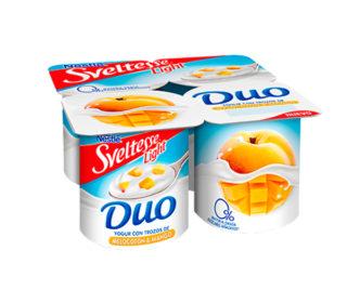 Yogur Sveltesse Duo pack 4×125 g.