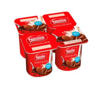 Yogur chocolate Nestlé pack 4×125 g.