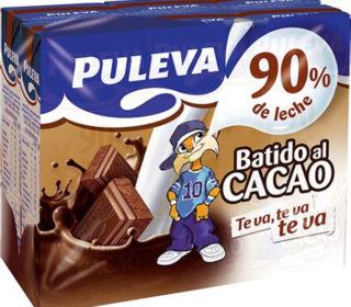 Batidos Puleva cacao pack 6×200 ml.