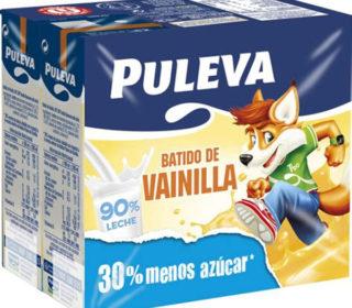 Batidos Puleva vainilla pack 6×200 ml.