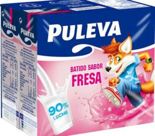Batidos Puleva fresa pack 6×200 ml.