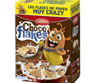 Cereales Chocoflakes 550 g.
