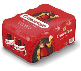 Cerveza Cruzcampo pack 12×33 cl.