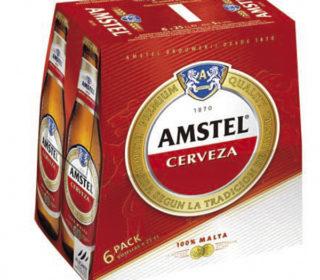 Cerveza Amstel pack 6×25 cl.