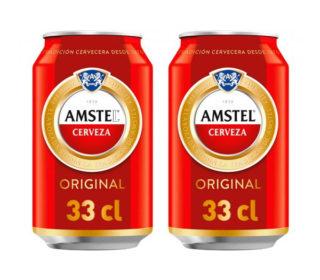 Cerveza amstel lata 33 cl.