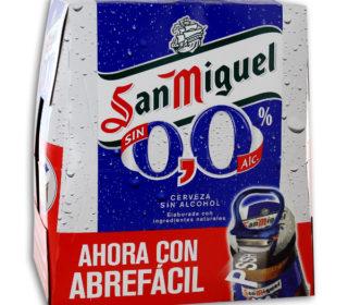 Cerveza San Miguel 0,0 pack 6×25 cl.