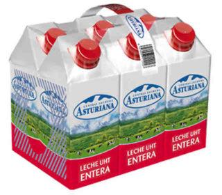 Leche entera Asturiana 500 ml.