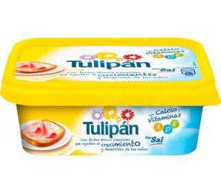 Margarina Tulipán c/sal 250 g.