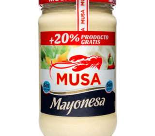 Mayonesa Musa 450 ml. +20%