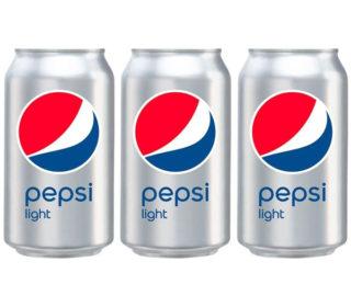 Pepsi Cola light lata 33 cl.