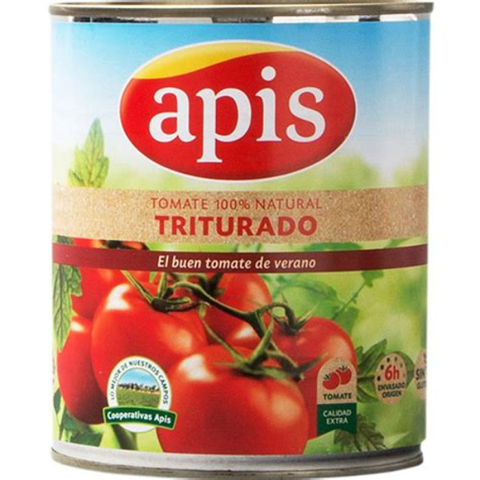 Tomate triturado Apis 800 g. - Alcoop