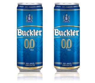 Cerveza Buckler 0,0 s/alc. lata 33 cl.