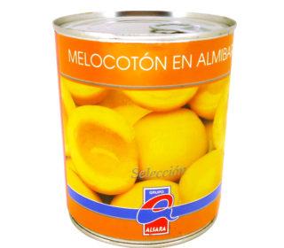 Melocotón en almibar Alsara 6/8p 480 g.