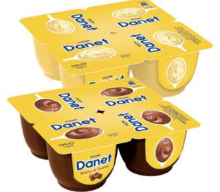 Natillas Danet pack 4×120 g.
