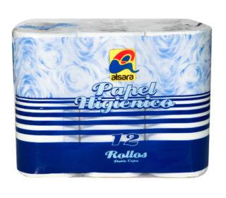 Papel higiénico Alsara 2c 12 rollos