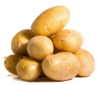 "Patatas frescas,  ""2 KGRS""."