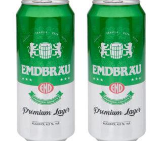 Cerveza Emdbrau lata 50 cl.