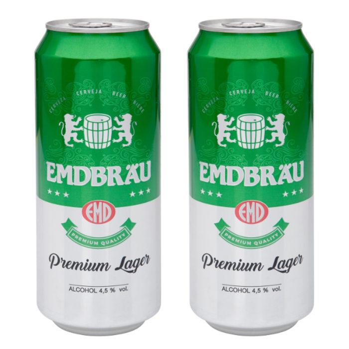 Cerveza Emdbrau lata 50 cl. - Alcoop