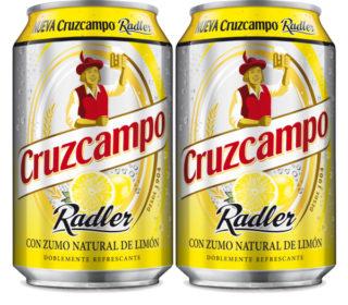 Cerveza Cruzcampo Radler lata 33 cl.