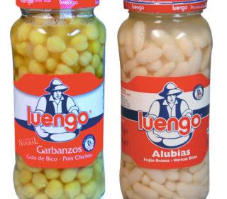 Garbanzos o alubias Luengo tarro 400 g.